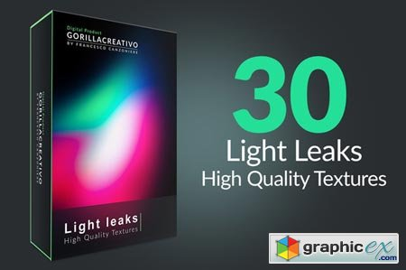Creativemarket Light Leaks - High Quality Textures 35402