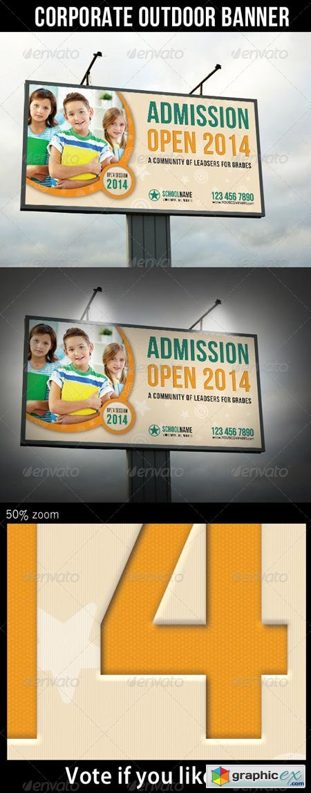 Junior School Promotion Outdoor Banner 01 6913122