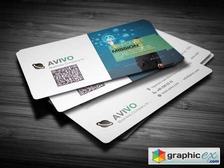Creativemarket Professional Business Card 7758
