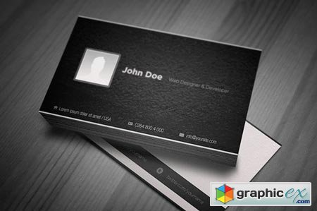 Creativemarket My Identity Business Card 5447