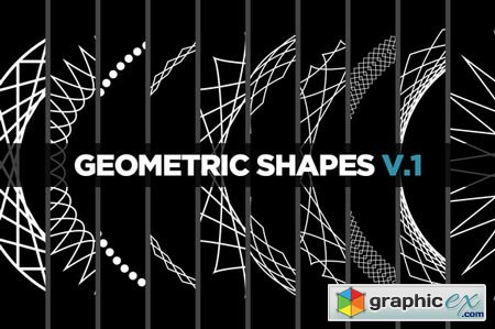 Creativemarket 10 Geometric Shapes v.1 20693