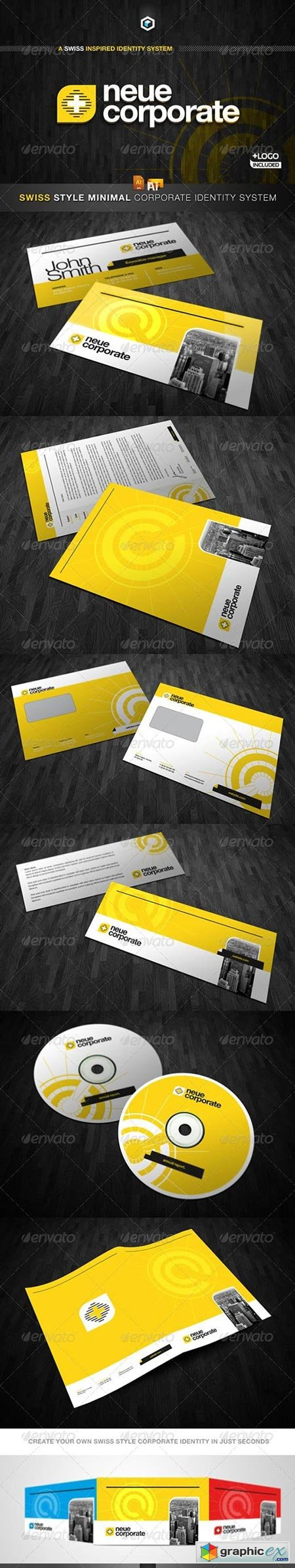 RW Swiss Style Modern Corporate Identity And Logo 2331247