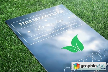 Creativemarket ECO Flyer PSD 9248