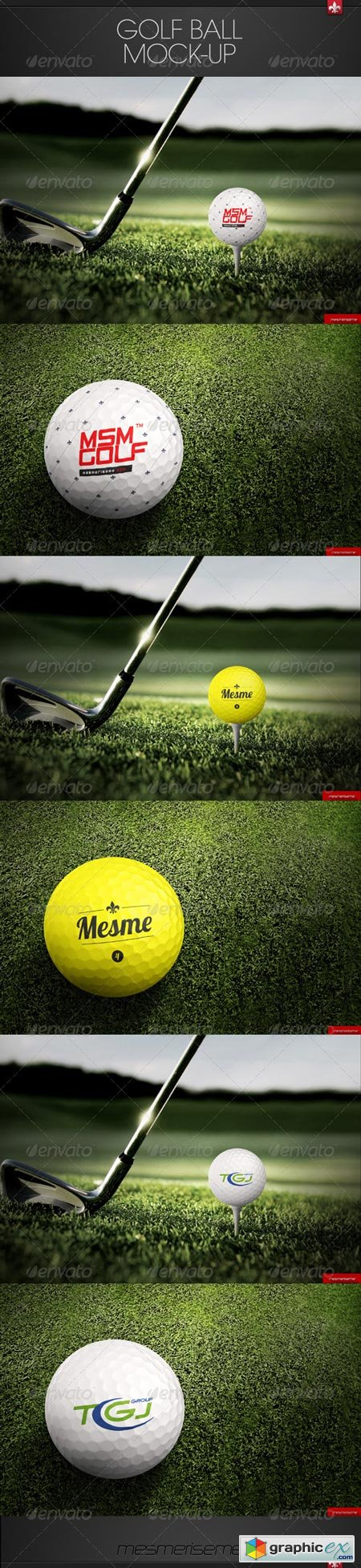 Golf Ball Mock-up 7492600