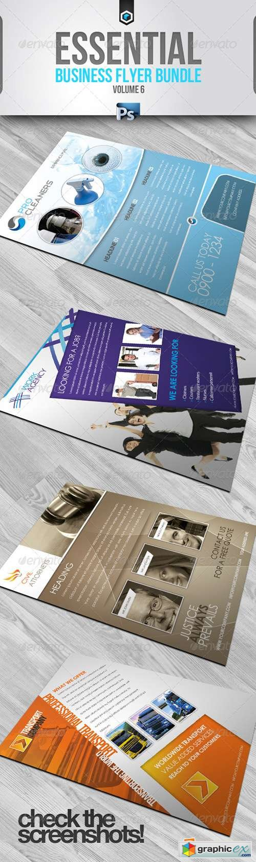 RW Essential Business Flyers Bundle Vol 6 294436