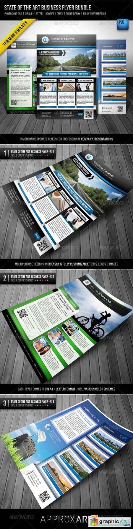 State of the Art Business Flyer Bundle 2808719