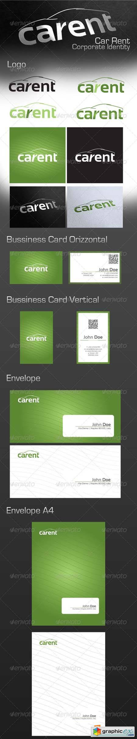 Car Rent Corporate Identity 2640511