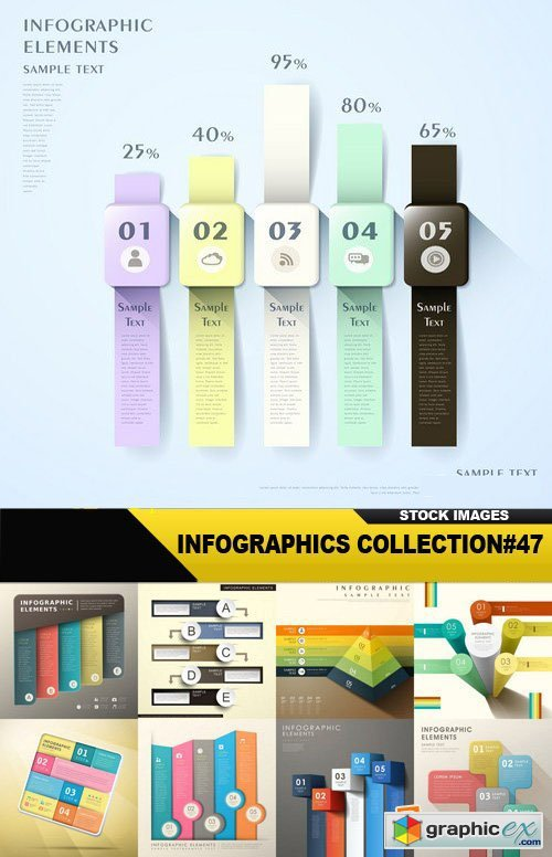 Infographics Collection#47 - 25 Vector
