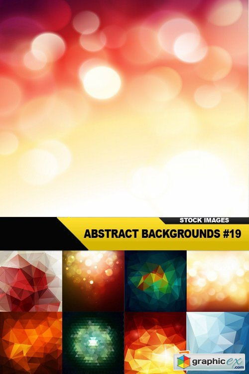 Abstract Backgrounds #19 - 25xEPS