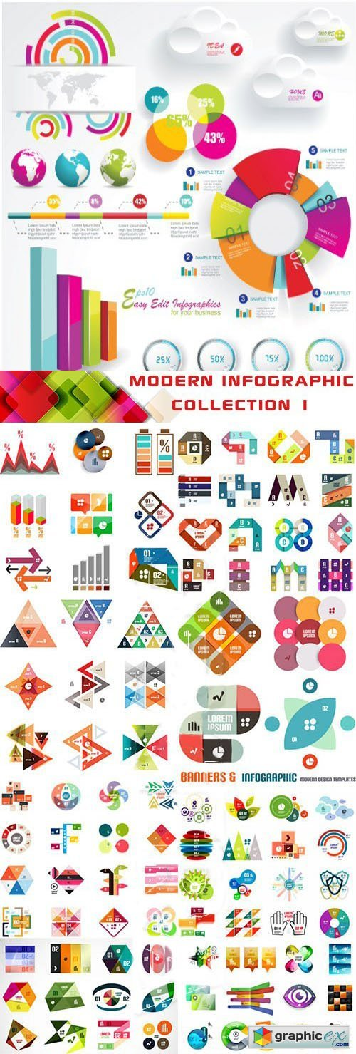 INGIMAGE - Modern Infographic Collection 1