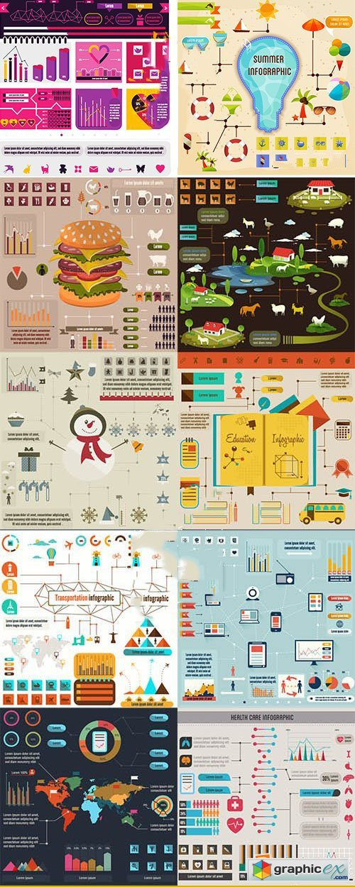 InfographZilla 3 The Super Premium Infographics Collection