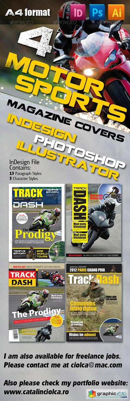 4 Motorsports Magazine Covers 2325801