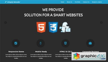 Creativemarket Simply Wonder Zurb Foundation 4 13254