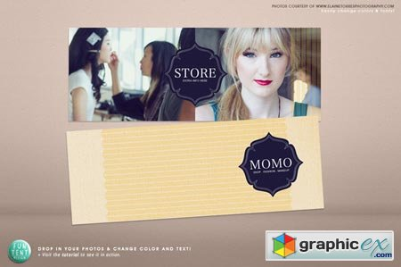 Creativemarket Facebook fashion timeline cover 12372