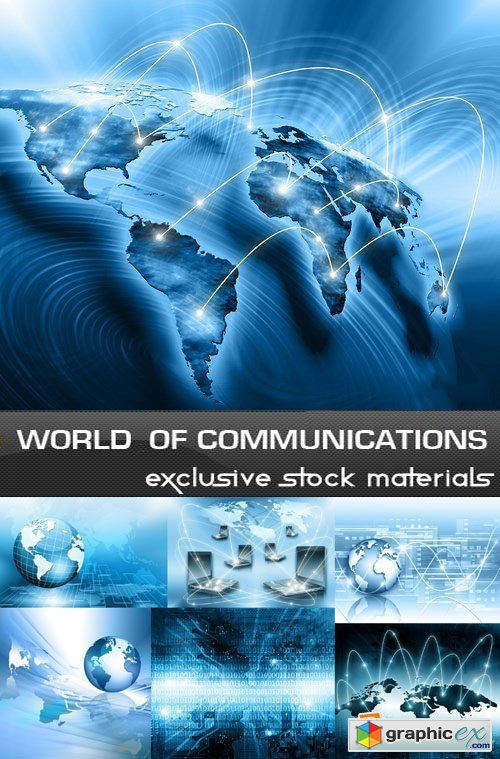 World of Communications, 25xUHQ JPEG