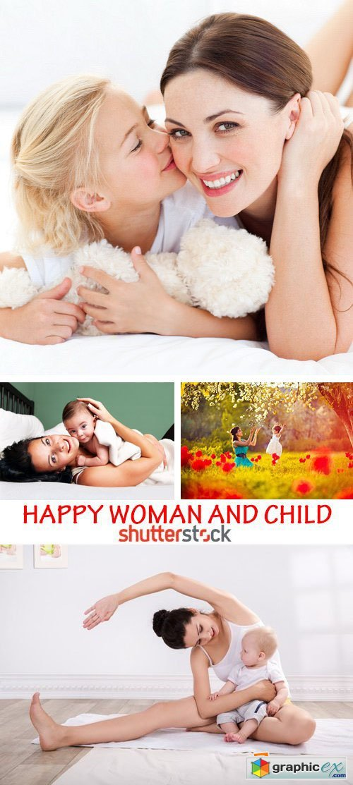 Amazing SS - Happy woman and child 25xJPG