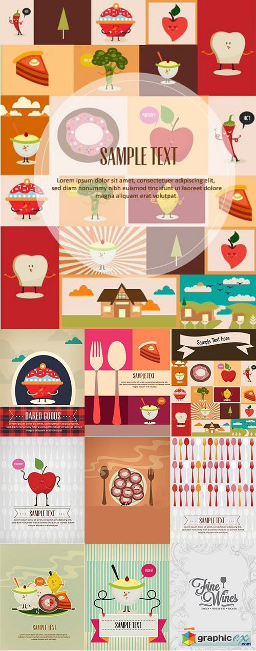 Vectorious Food and Drinks Vector Collection 1