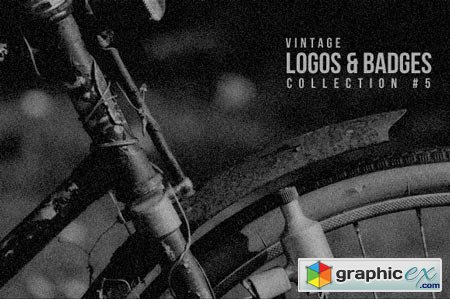 Creativemarket Vintage Logos & Badges Collection 5 20767