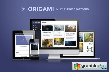 Creativemarket Origami - multipurpose template 15832