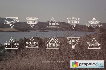 Triangle Badges Vol.1 23144