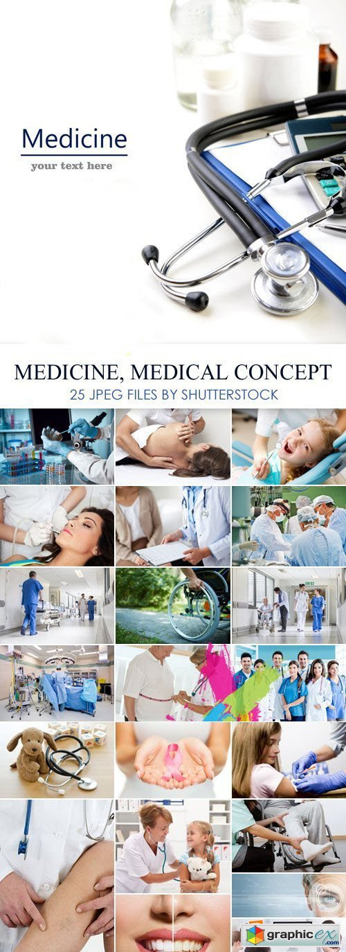 Stock Photo - Medicine, Medical Concept