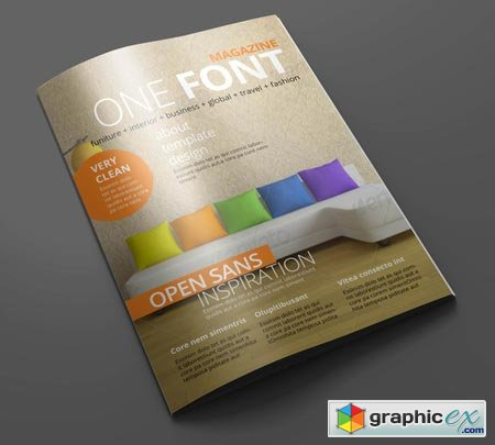 Magazine Editorial Template 01 14717
