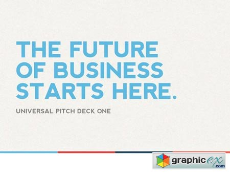 Universal Pitch Deck One PowerPoint 2426