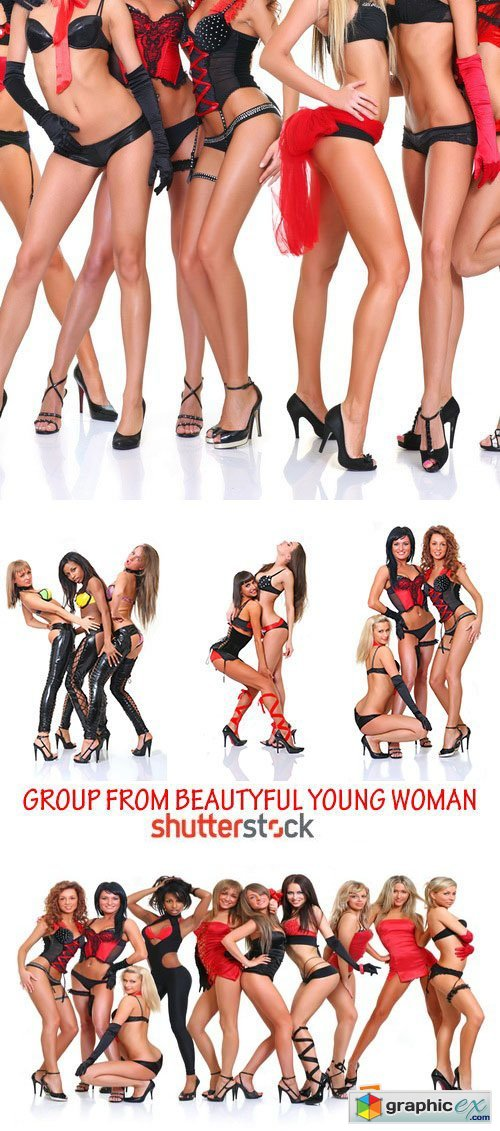 Amazing SS - Group from Beautiful Young Women 25xJPG