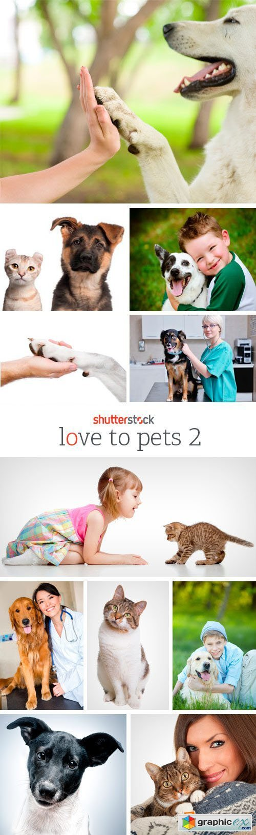 Amazing SS - Love To Pets 2, 25xJPG