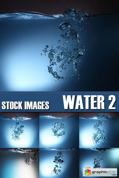 Stock Photos - Water 2, 25xJPG
