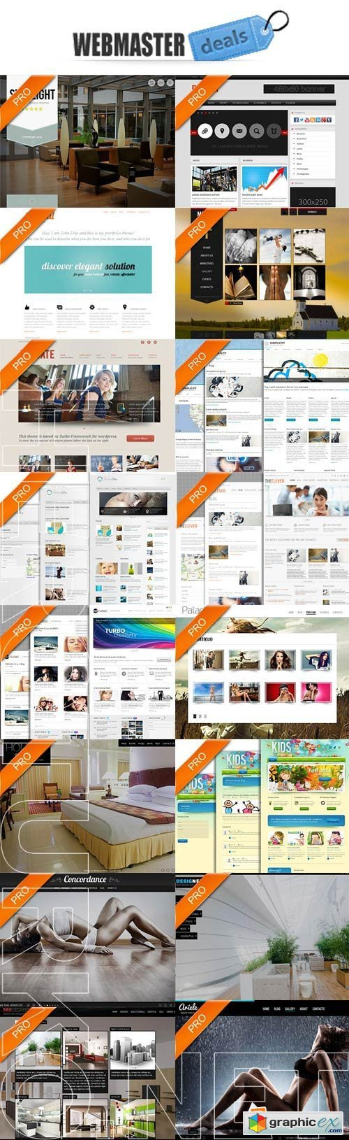 Webmaster-Deals - 17 Awesome Wordpress Themes