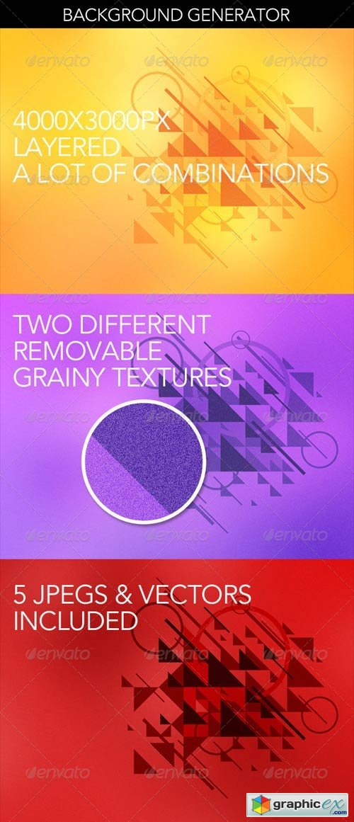 Abstract Background Graphics Generator » Free Download