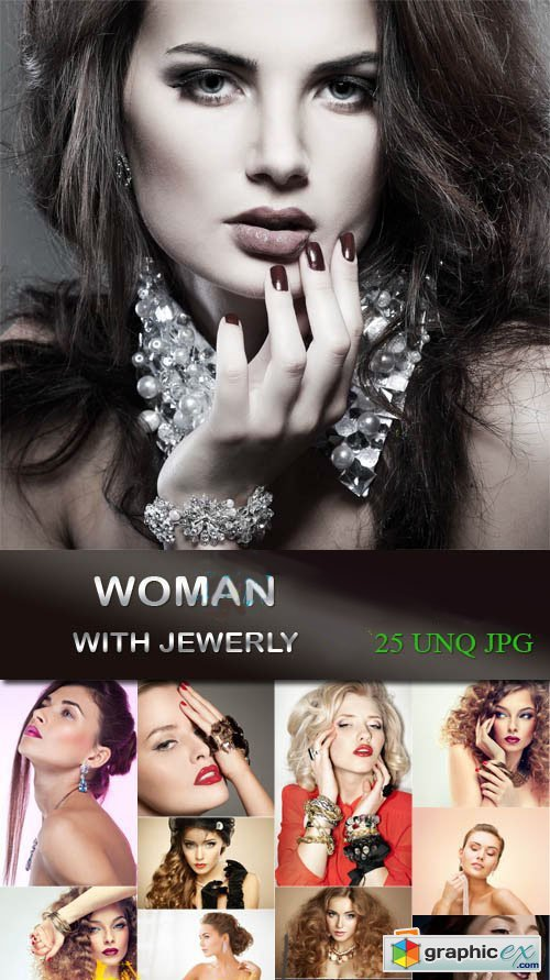 Woman with Jewerly 25xJPG