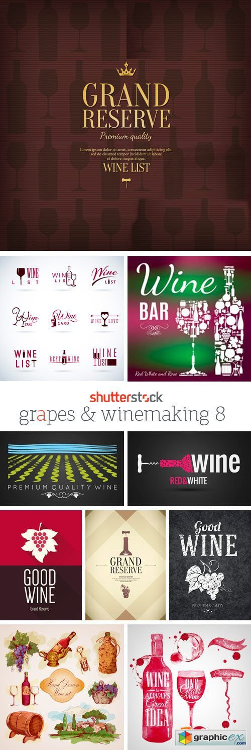 Amazing SS - Grapes & Winemaking 8, 25xEPS