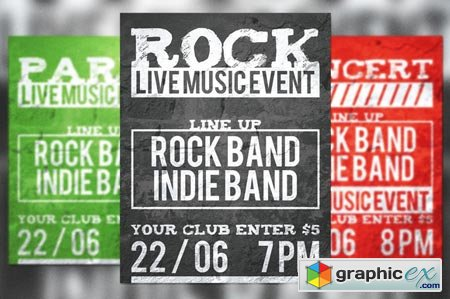 Live Music Event Flyer 39054