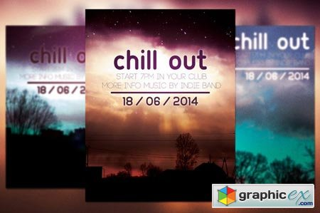 Chill out Flyer 39470