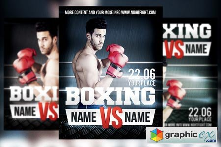 Boxing Flyer 39613