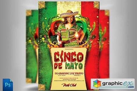 Party Flyer 5 de Mayo 40947