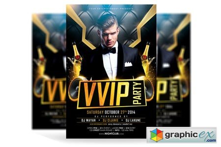 VVIP Party Flyer 41139