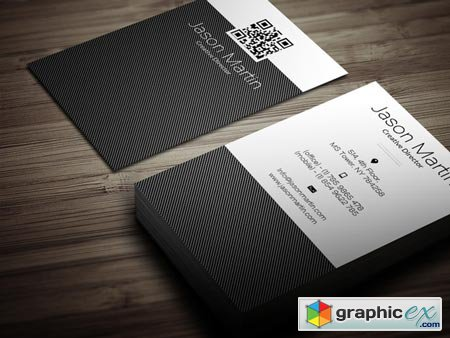 Soft Corporate Business Card 39488