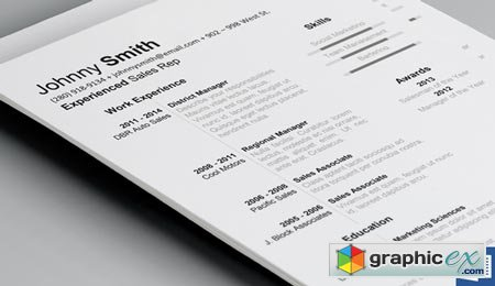 History Resume Template 38194