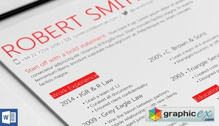Highlight Resume Template 38195