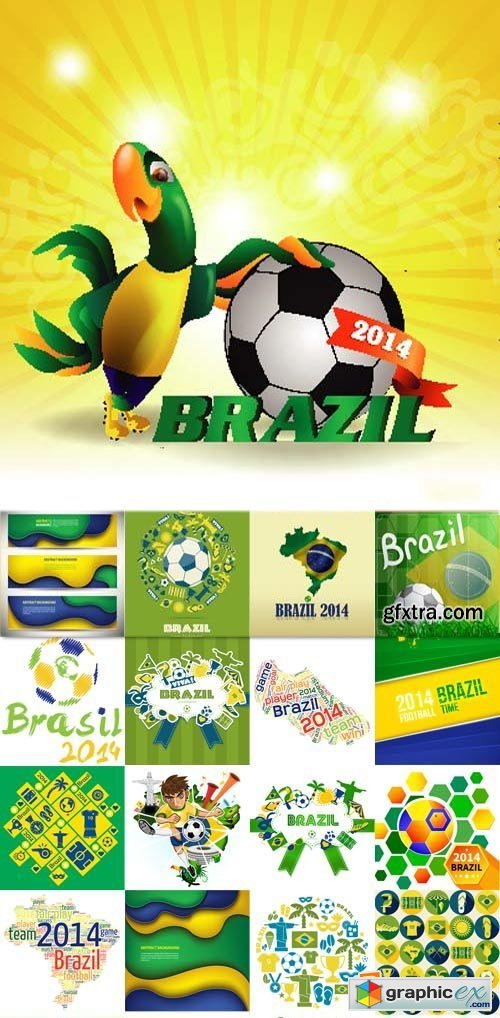 Brazil 2014 football, 25xEPS