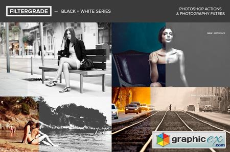 FilterGrade Black + White Series 19700