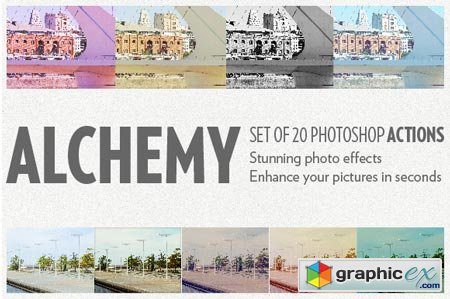 Alchemy - 20 photoshop actions 11688