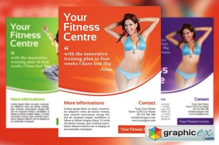 Fitness Centre Flyer 43289