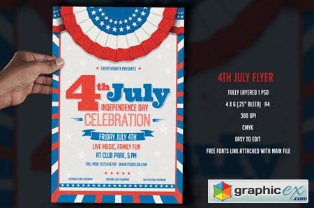 4th July Flyer 43304