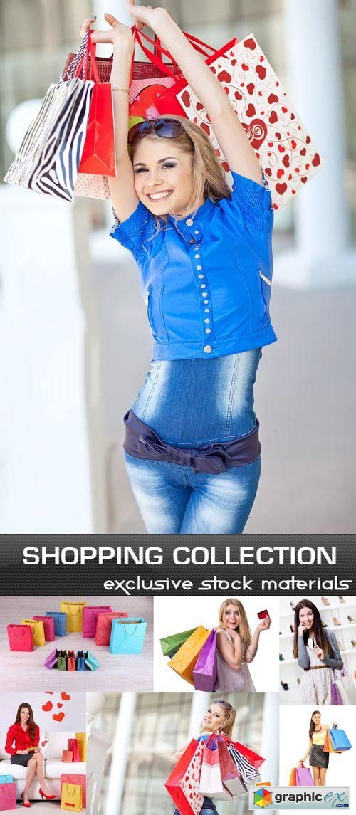 Shopping Girl Collection 25xJPG