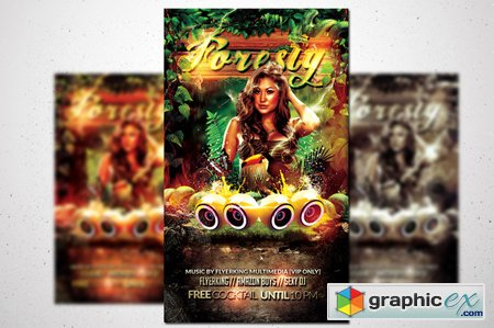 Foresty Flyer - Jungle Fever 43072