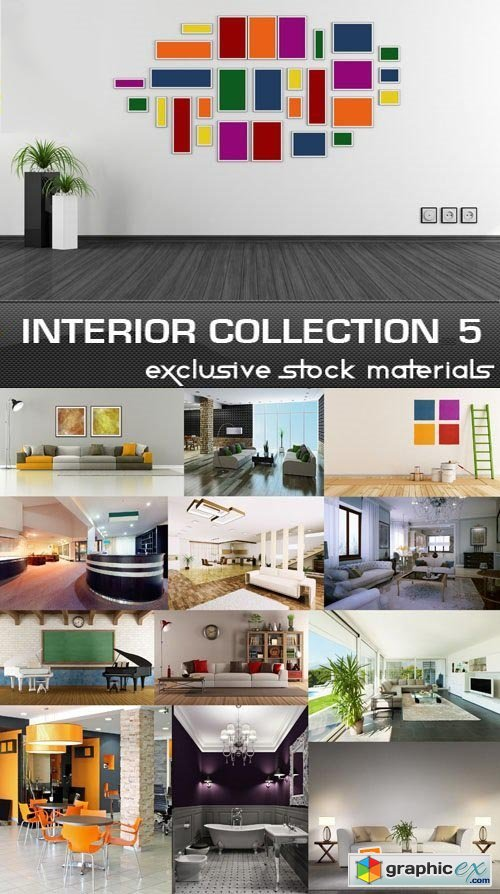 Collection of Interiors Vol.5, 25xJPG